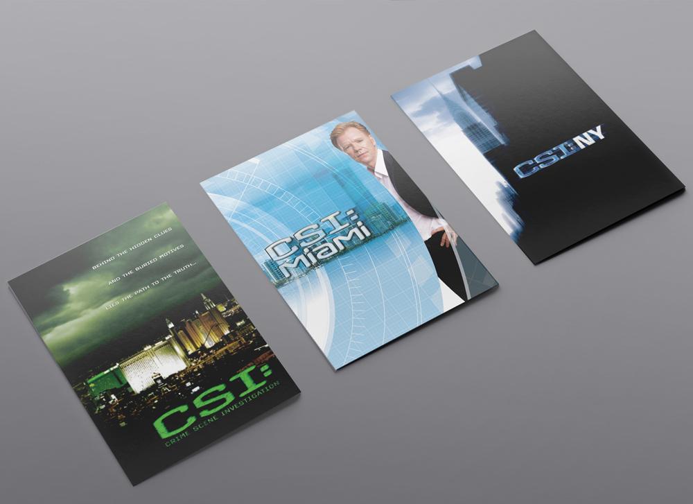 CSI Franchise Pocket Folders