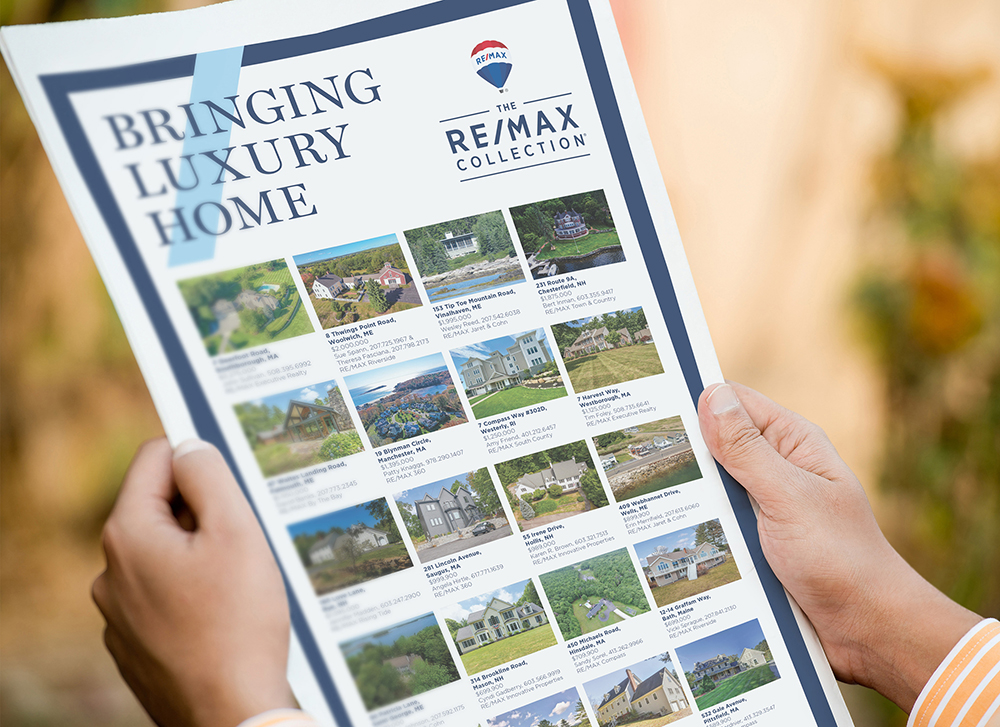 The RE/MAX Collection Listing Ads