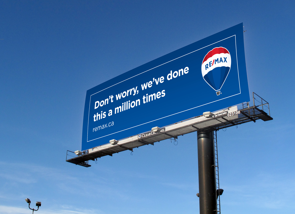 RE/MAX Out-of-Home Advertising