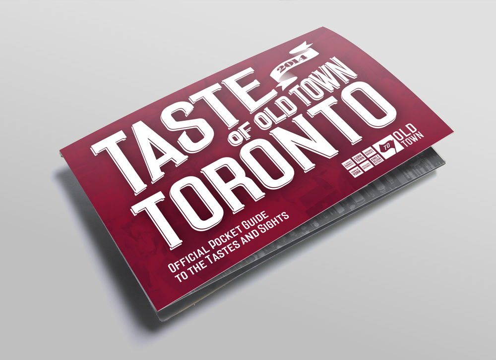 Taste of Old Town Toronto Restaurant Listing Map