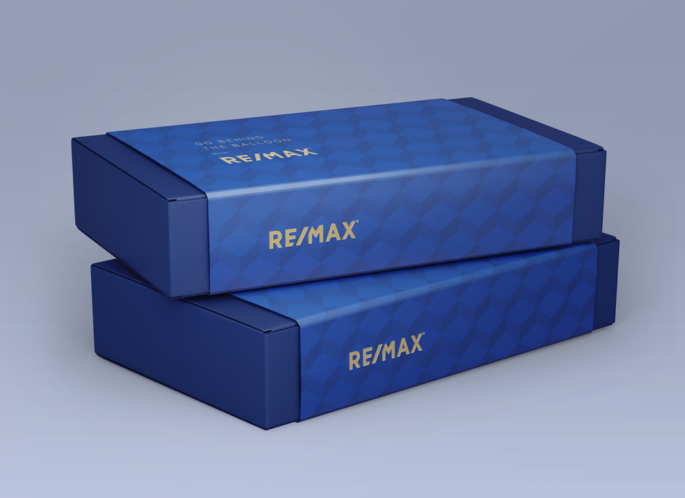 RE/MAX R4 Invitation Packaging