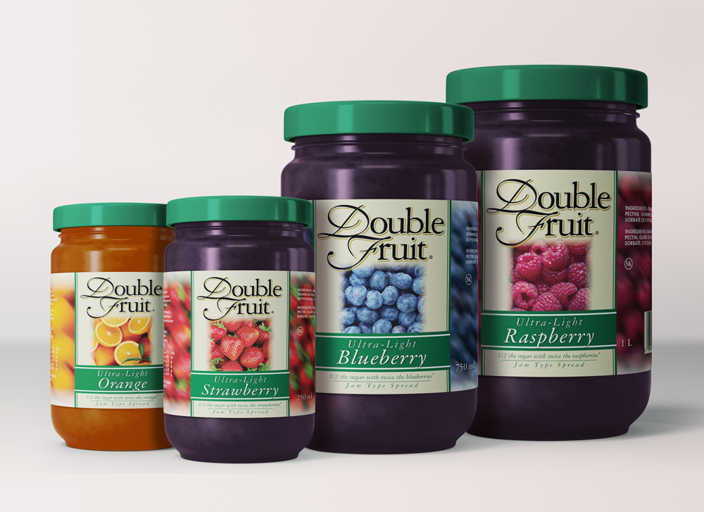 Smucker's Double Fruit Labels